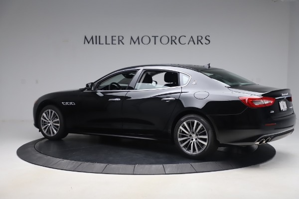 New 2020 Maserati Quattroporte S Q4 for sale $110,999 at Bentley Greenwich in Greenwich CT 06830 4