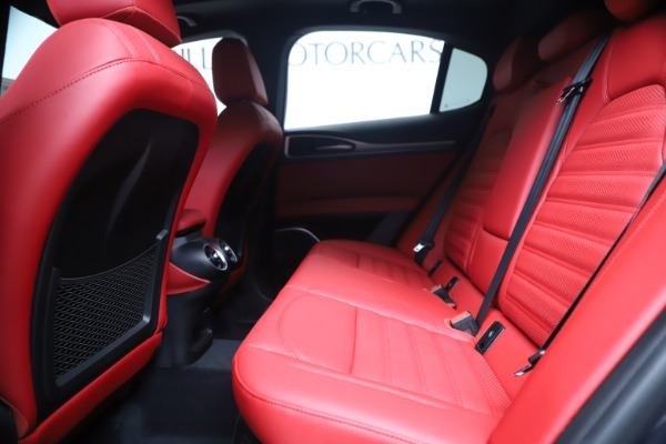 New 2020 Alfa Romeo Stelvio Ti Sport Q4 for sale Sold at Bentley Greenwich in Greenwich CT 06830 19