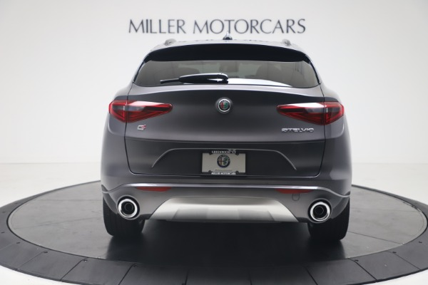 New 2020 Alfa Romeo Stelvio Ti Sport Q4 for sale Call for price at Bentley Greenwich in Greenwich CT 06830 6