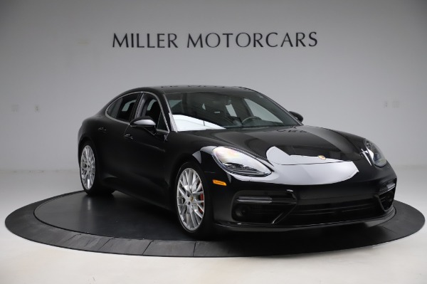 Used 2017 Porsche Panamera Turbo for sale $95,900 at Bentley Greenwich in Greenwich CT 06830 11