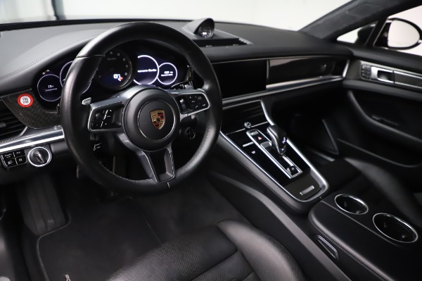 Used 2017 Porsche Panamera Turbo for sale $95,900 at Bentley Greenwich in Greenwich CT 06830 13