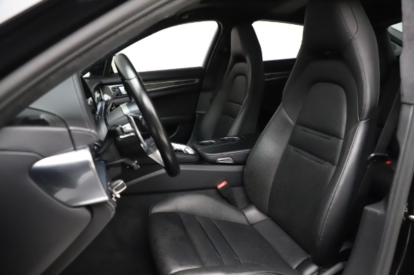 Used 2017 Porsche Panamera Turbo for sale $95,900 at Bentley Greenwich in Greenwich CT 06830 15