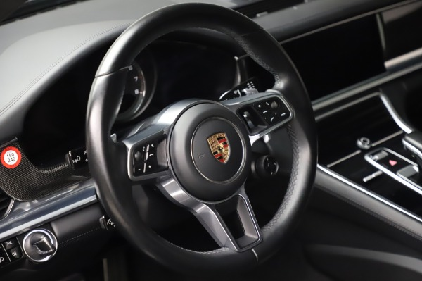 Used 2017 Porsche Panamera Turbo for sale $95,900 at Bentley Greenwich in Greenwich CT 06830 16