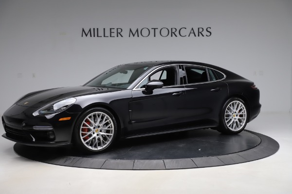 Used 2017 Porsche Panamera Turbo for sale $95,900 at Bentley Greenwich in Greenwich CT 06830 2
