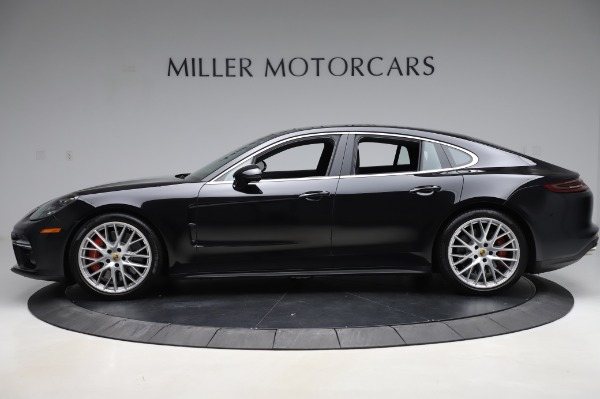 Used 2017 Porsche Panamera Turbo for sale $95,900 at Bentley Greenwich in Greenwich CT 06830 3