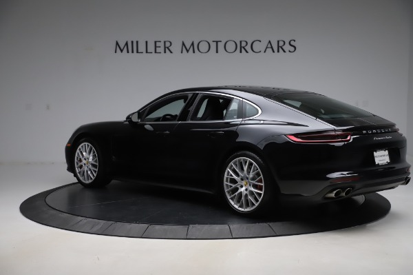 Used 2017 Porsche Panamera Turbo for sale $95,900 at Bentley Greenwich in Greenwich CT 06830 4
