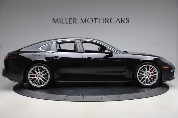 Used 2017 Porsche Panamera Turbo for sale $95,900 at Bentley Greenwich in Greenwich CT 06830 9