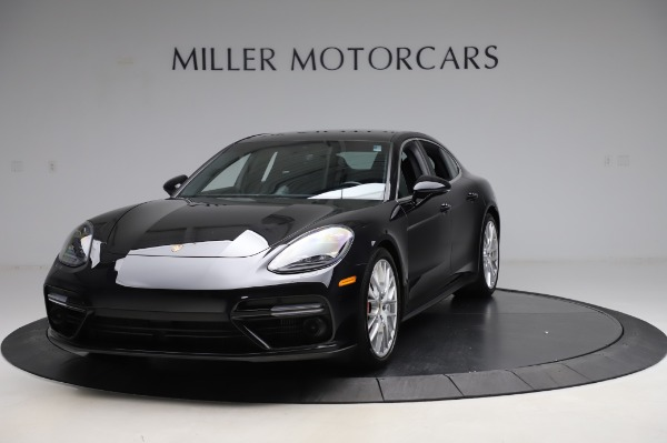 Used 2017 Porsche Panamera Turbo for sale $95,900 at Bentley Greenwich in Greenwich CT 06830 1