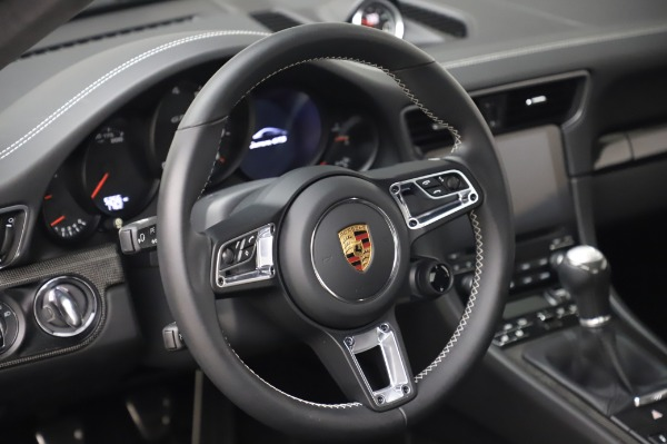 Used 2018 Porsche 911 Carrera GTS for sale Call for price at Bentley Greenwich in Greenwich CT 06830 17