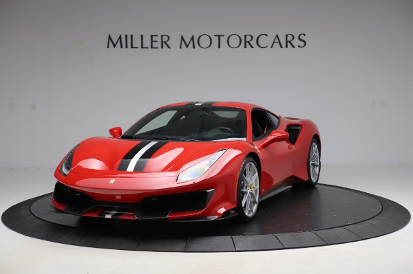 Used 2019 Ferrari 488 Pista for sale $447,900 at Bentley Greenwich in Greenwich CT 06830 1