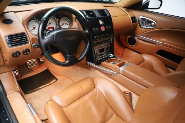 Used 2003 Aston Martin V12 Vanquish Coupe for sale $79,900 at Bentley Greenwich in Greenwich CT 06830 13