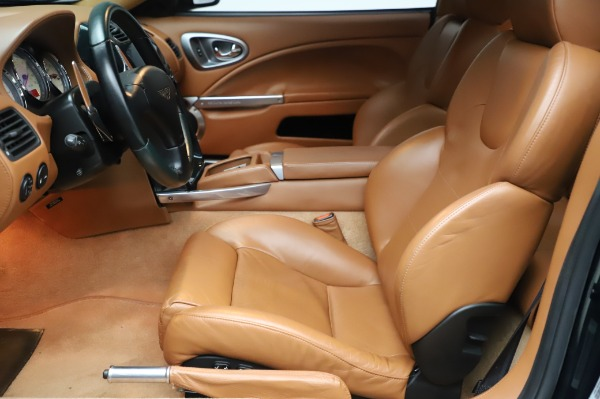 Used 2003 Aston Martin V12 Vanquish Coupe for sale $79,900 at Bentley Greenwich in Greenwich CT 06830 14