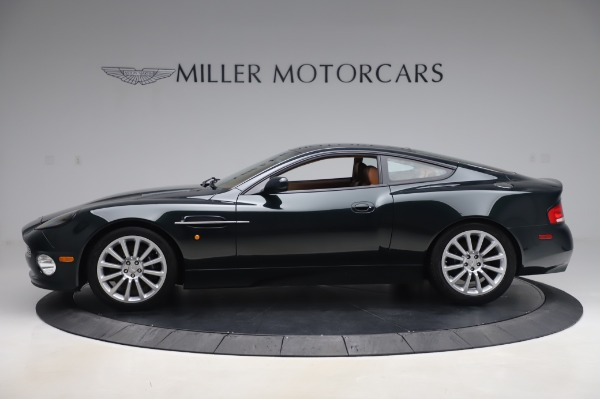 Used 2003 Aston Martin V12 Vanquish Coupe for sale $79,900 at Bentley Greenwich in Greenwich CT 06830 2