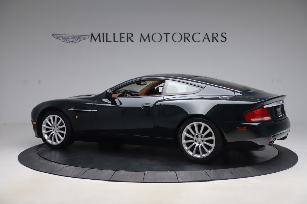Used 2003 Aston Martin V12 Vanquish Coupe for sale $79,900 at Bentley Greenwich in Greenwich CT 06830 3