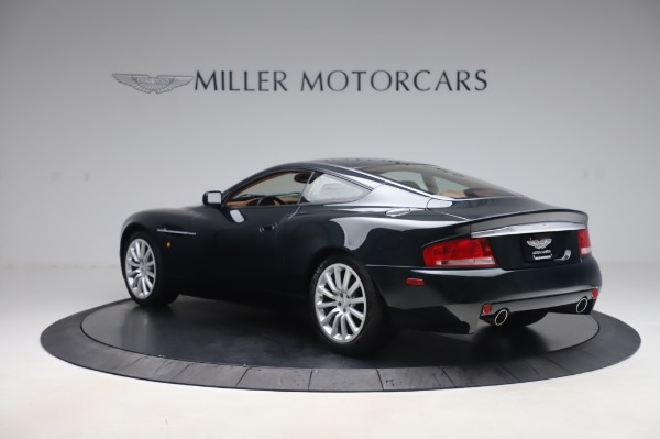 Used 2003 Aston Martin V12 Vanquish Coupe for sale $79,900 at Bentley Greenwich in Greenwich CT 06830 4
