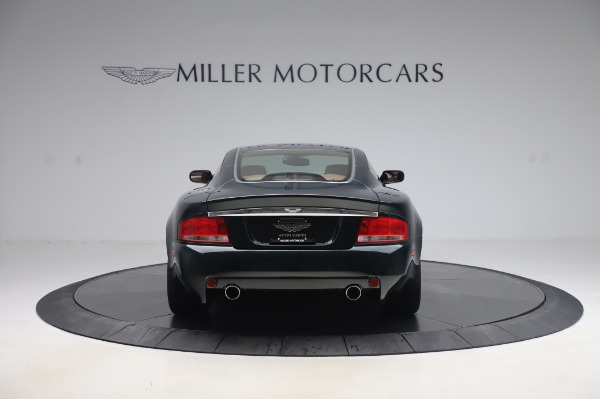 Used 2003 Aston Martin V12 Vanquish Coupe for sale $79,900 at Bentley Greenwich in Greenwich CT 06830 5