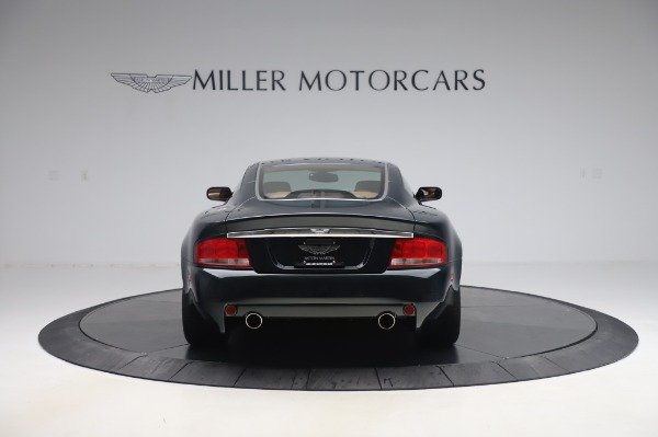 Used 2003 Aston Martin V12 Vanquish Coupe for sale $79,900 at Bentley Greenwich in Greenwich CT 06830 6