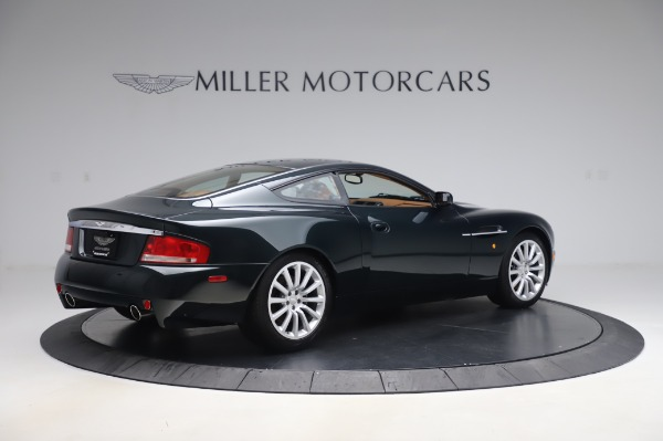Used 2003 Aston Martin V12 Vanquish Coupe for sale $79,900 at Bentley Greenwich in Greenwich CT 06830 8