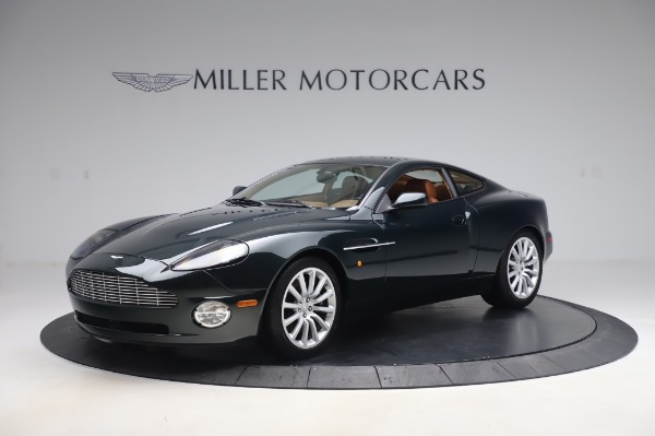 Used 2003 Aston Martin V12 Vanquish Coupe for sale $79,900 at Bentley Greenwich in Greenwich CT 06830 1
