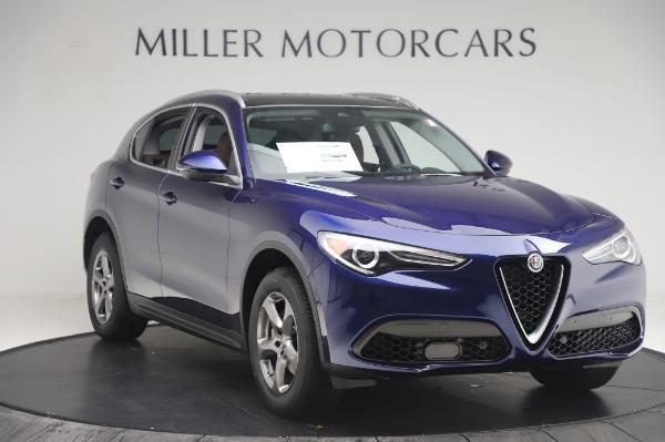 New 2020 Alfa Romeo Stelvio Q4 for sale $49,795 at Bentley Greenwich in Greenwich CT 06830 11