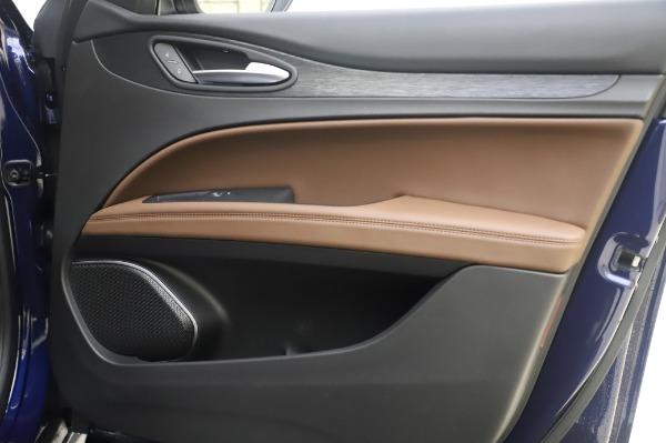 New 2020 Alfa Romeo Stelvio Q4 for sale $49,795 at Bentley Greenwich in Greenwich CT 06830 26