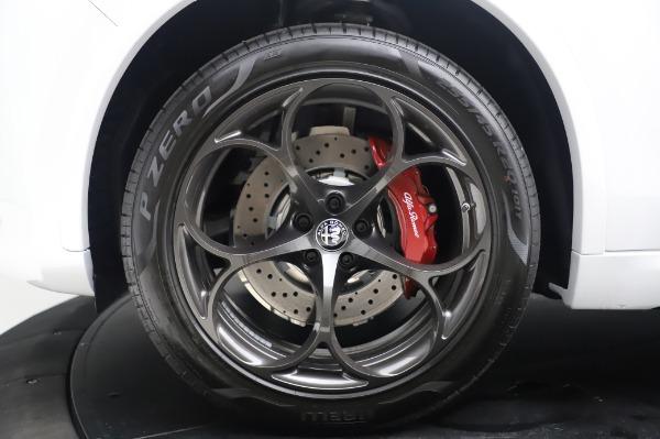 New 2020 Alfa Romeo Stelvio Quadrifoglio for sale $90,945 at Bentley Greenwich in Greenwich CT 06830 14