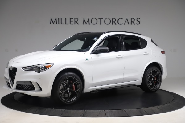 New 2020 Alfa Romeo Stelvio Quadrifoglio for sale $90,945 at Bentley Greenwich in Greenwich CT 06830 2