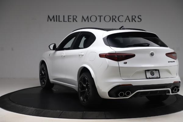 New 2020 Alfa Romeo Stelvio Quadrifoglio for sale $90,945 at Bentley Greenwich in Greenwich CT 06830 5