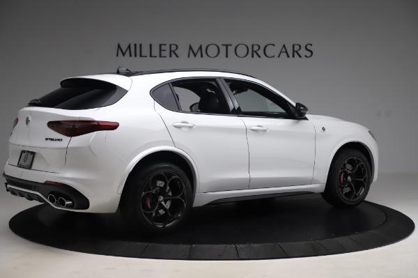 New 2020 Alfa Romeo Stelvio Quadrifoglio for sale $90,945 at Bentley Greenwich in Greenwich CT 06830 8