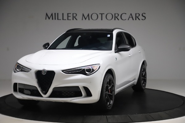 New 2020 Alfa Romeo Stelvio Quadrifoglio for sale $90,945 at Bentley Greenwich in Greenwich CT 06830 1