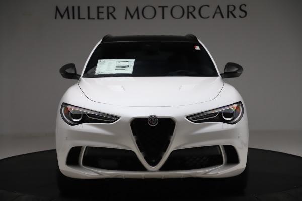 New 2020 Alfa Romeo Stelvio Quadrifoglio for sale $89,145 at Bentley Greenwich in Greenwich CT 06830 12