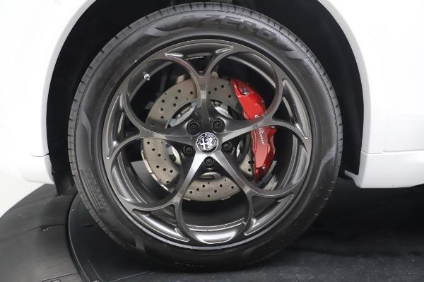 New 2020 Alfa Romeo Stelvio Quadrifoglio for sale $89,145 at Bentley Greenwich in Greenwich CT 06830 16