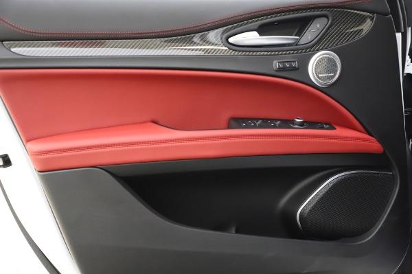 New 2020 Alfa Romeo Stelvio Quadrifoglio for sale $89,145 at Bentley Greenwich in Greenwich CT 06830 26