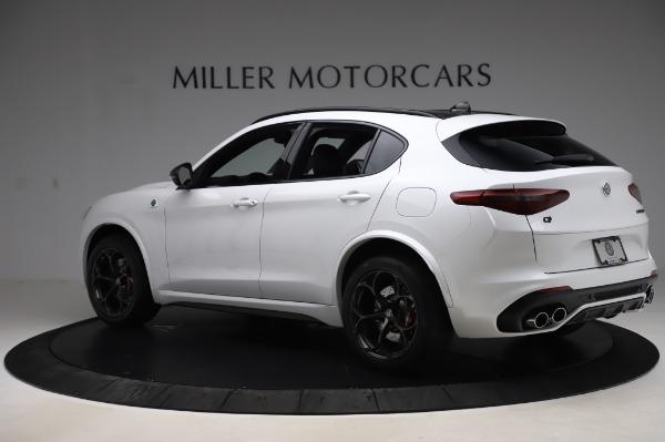 New 2020 Alfa Romeo Stelvio Quadrifoglio for sale $89,145 at Bentley Greenwich in Greenwich CT 06830 4
