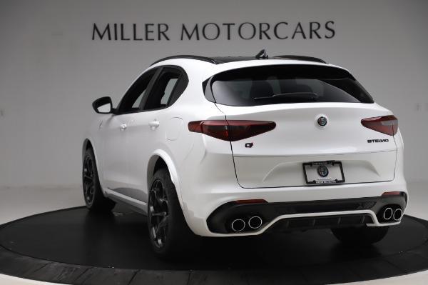 New 2020 Alfa Romeo Stelvio Quadrifoglio for sale $89,145 at Bentley Greenwich in Greenwich CT 06830 5