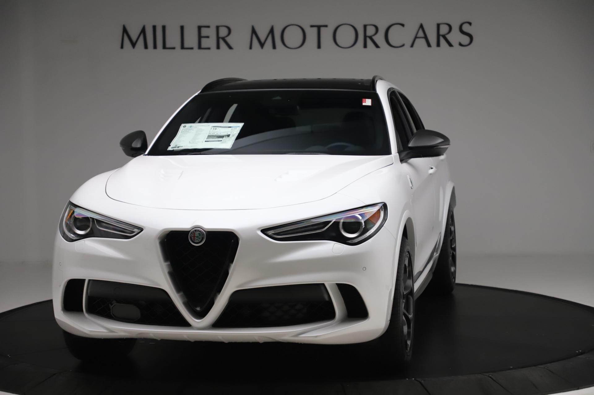 New 2020 Alfa Romeo Stelvio Quadrifoglio for sale $89,145 at Bentley Greenwich in Greenwich CT 06830 1