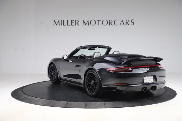 Used 2018 Porsche 911 Carrera 4 GTS for sale $137,900 at Bentley Greenwich in Greenwich CT 06830 4