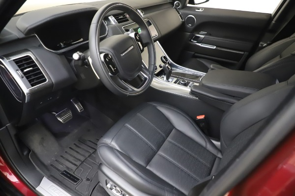Used 2019 Land Rover Range Rover Sport Autobiography for sale Sold at Bentley Greenwich in Greenwich CT 06830 13
