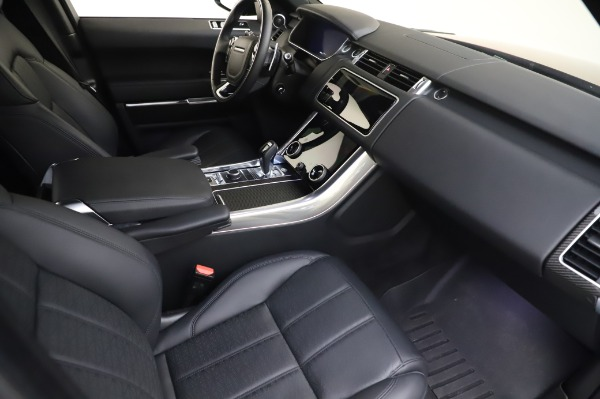 Used 2019 Land Rover Range Rover Sport Autobiography for sale Sold at Bentley Greenwich in Greenwich CT 06830 19