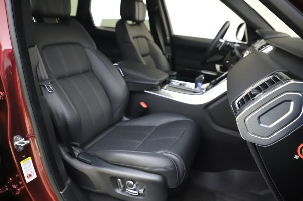 Used 2019 Land Rover Range Rover Sport Autobiography for sale Sold at Bentley Greenwich in Greenwich CT 06830 22