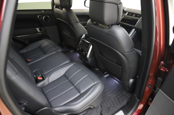 Used 2019 Land Rover Range Rover Sport Autobiography for sale Sold at Bentley Greenwich in Greenwich CT 06830 23