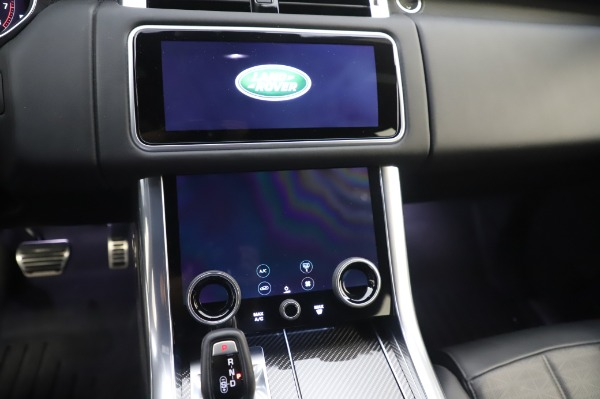 Used 2019 Land Rover Range Rover Sport Autobiography for sale Sold at Bentley Greenwich in Greenwich CT 06830 26