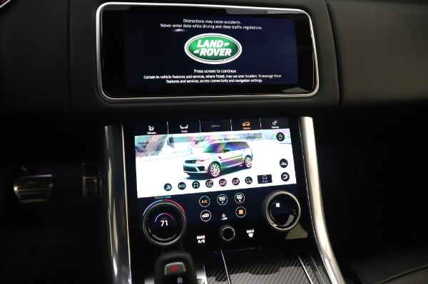 Used 2019 Land Rover Range Rover Sport Autobiography for sale Sold at Bentley Greenwich in Greenwich CT 06830 27