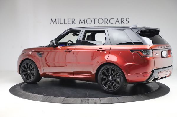 Used 2019 Land Rover Range Rover Sport Autobiography for sale Sold at Bentley Greenwich in Greenwich CT 06830 4