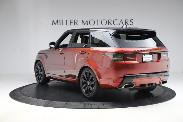 Used 2019 Land Rover Range Rover Sport Autobiography for sale Sold at Bentley Greenwich in Greenwich CT 06830 5