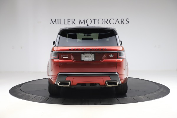 Used 2019 Land Rover Range Rover Sport Autobiography for sale Sold at Bentley Greenwich in Greenwich CT 06830 6