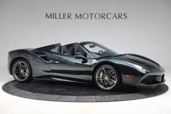 Used 2019 Ferrari 488 Spider Base for sale $329,900 at Bentley Greenwich in Greenwich CT 06830 10