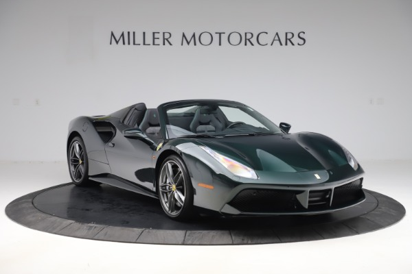 Used 2019 Ferrari 488 Spider Base for sale $329,900 at Bentley Greenwich in Greenwich CT 06830 11