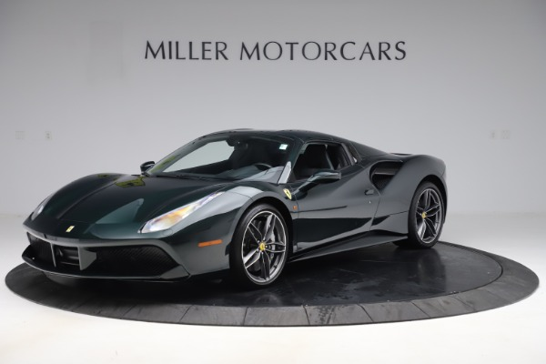 Used 2019 Ferrari 488 Spider Base for sale $329,900 at Bentley Greenwich in Greenwich CT 06830 13
