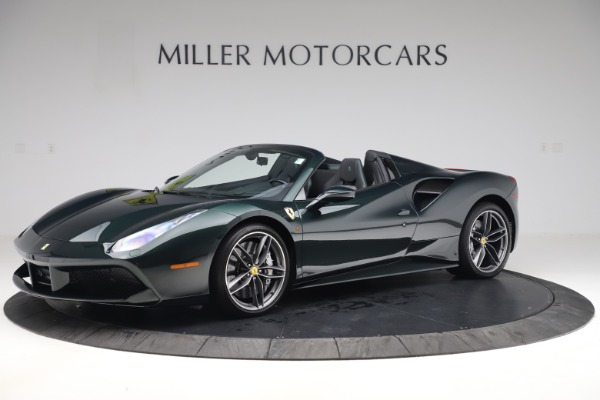 Used 2019 Ferrari 488 Spider Base for sale $329,900 at Bentley Greenwich in Greenwich CT 06830 2
